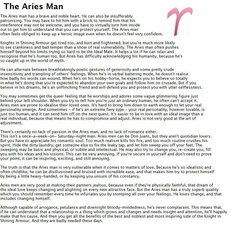 Aries Man In Love With Scorpio Woman: Mature Milf