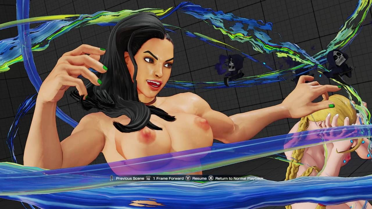 Street fighter nude picks #5