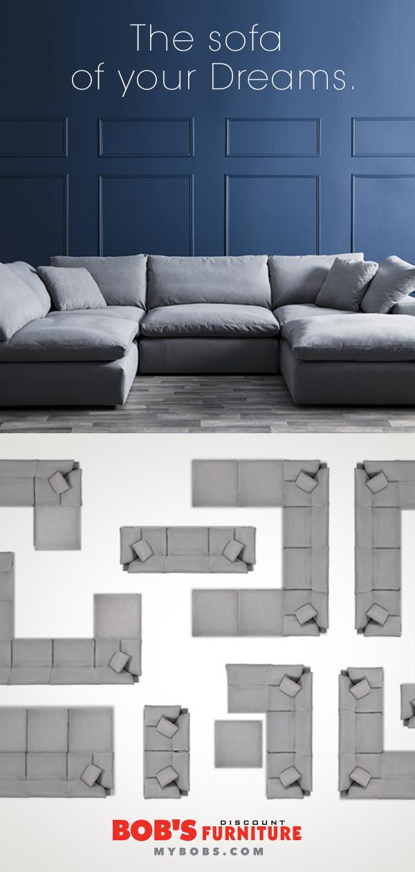 Three Pieces Endless Options My Modular Sofa Is A Dream Come True Home Modular Sofa Family Room