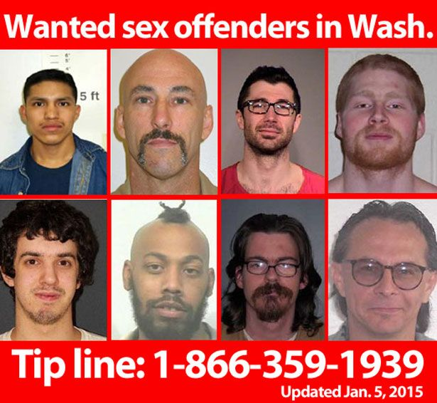 Washington state sex offenders list