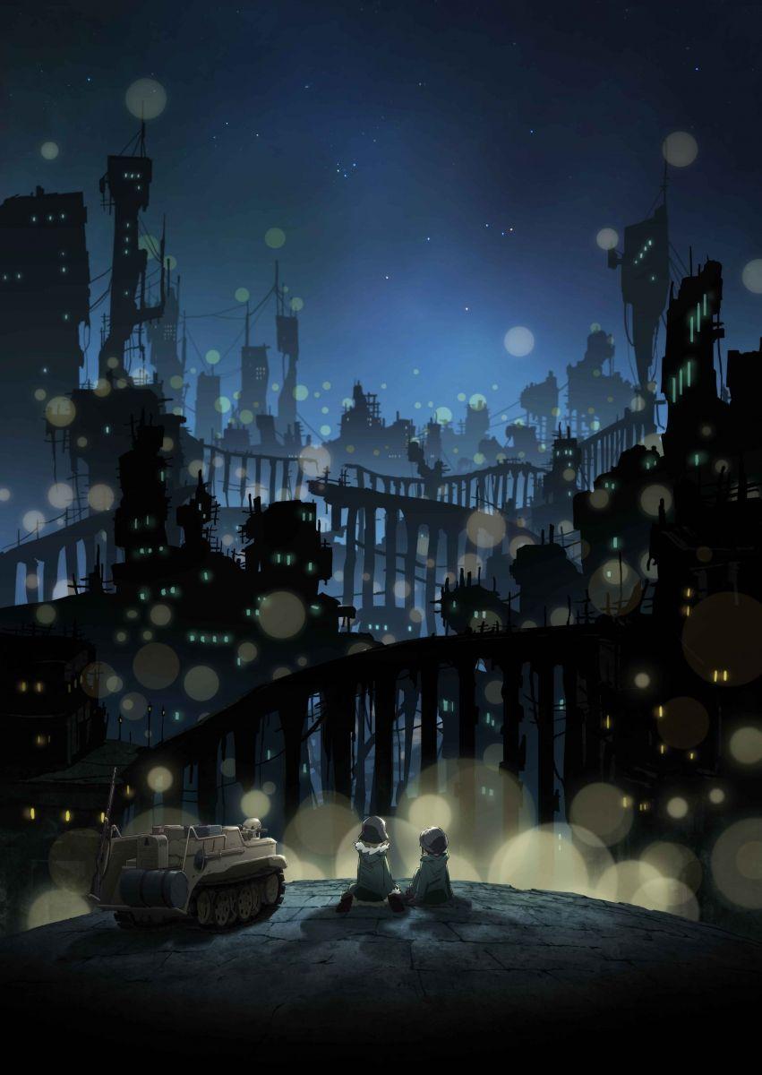 Anime Girls Last Tour Releases New Key Visuals Manga Tokyo Anime Art Beautiful Anime Images Anime
