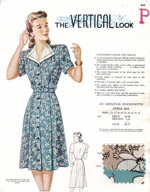 Maisonette17 Vintage Fashion 1940s Fashion Fashion