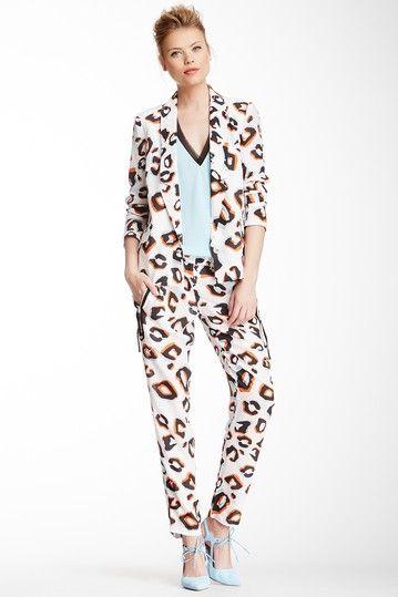 Silk Leopard Pant by L.A.M.B. on @HauteLook