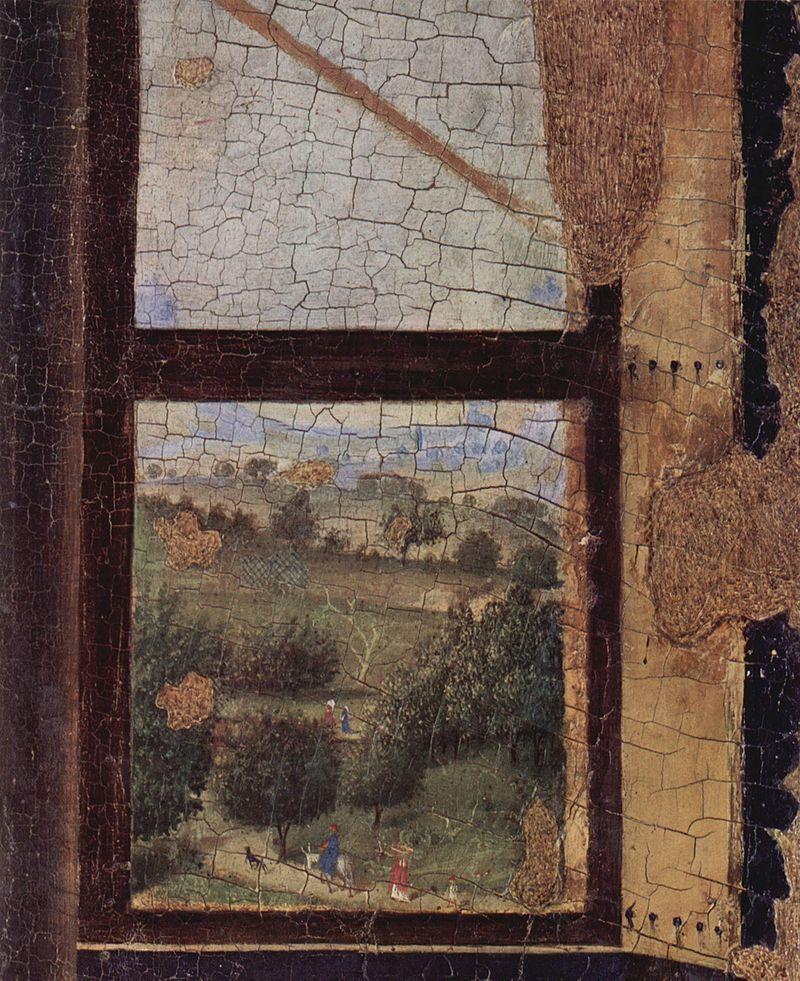 Antonello Da Messina Annunciation Detail 1474 Palazzo