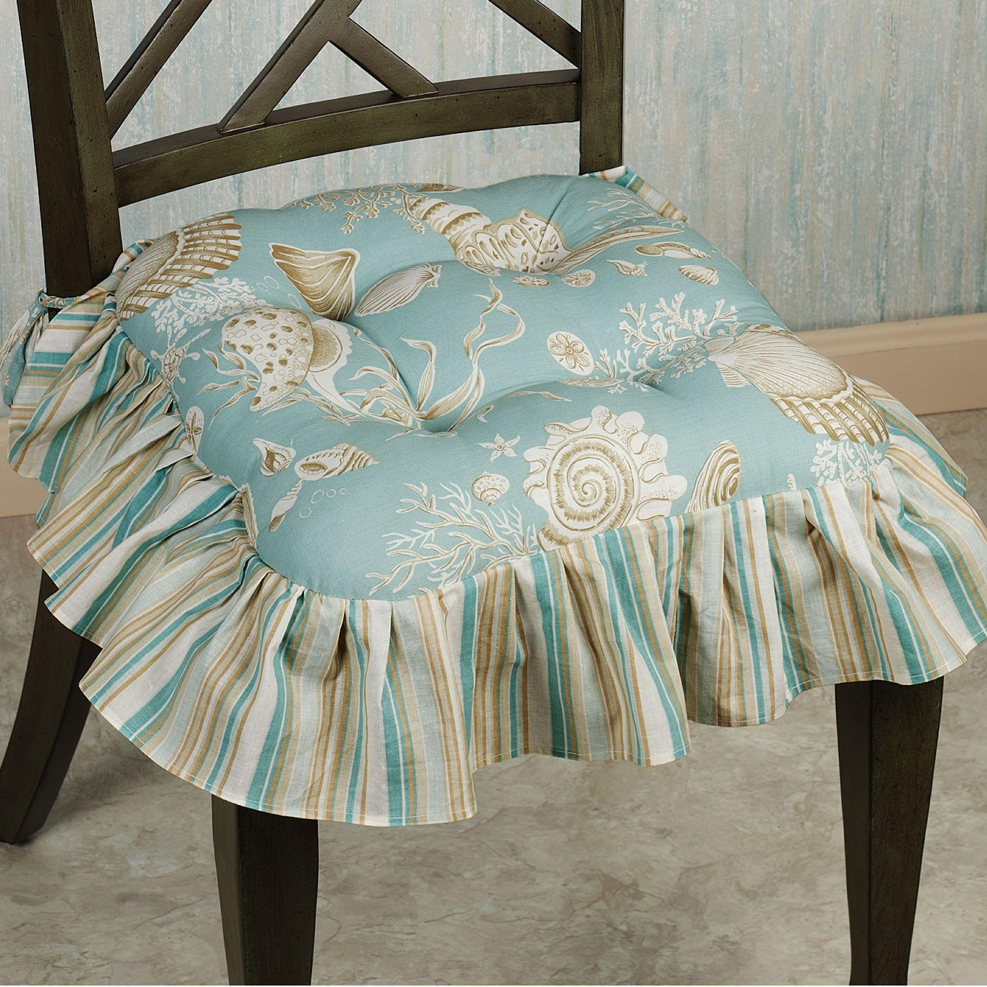 Natural Shells Chair Cushions | Kitchen chair cushions ...