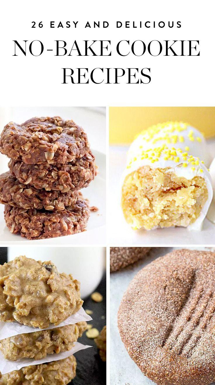 26 Easy No Bake Cookies Anyone Can Make