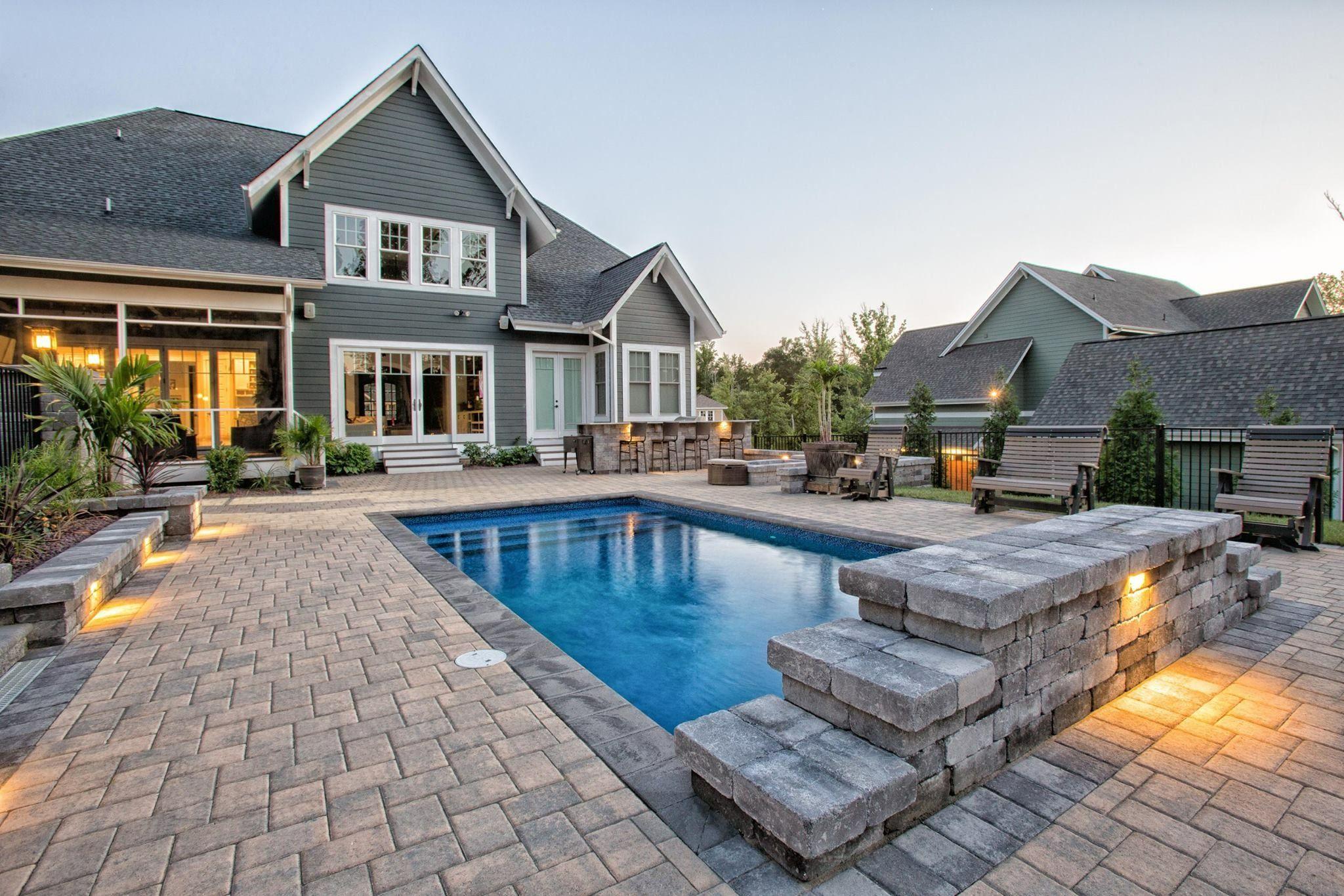House Pools, Porch, Patio, House Porch, Terrace, Front Porches, Porches,