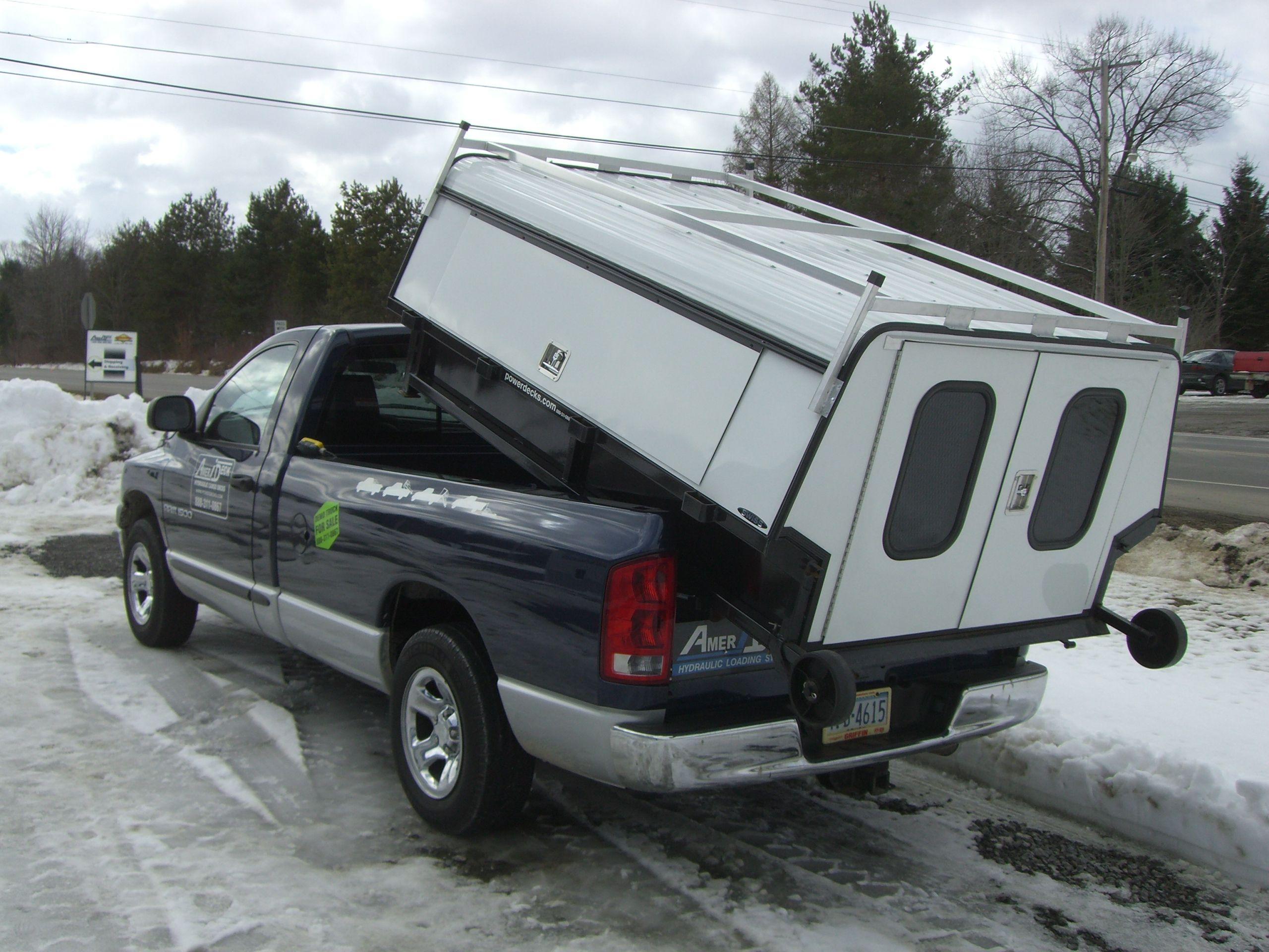 Amerideck Service Cap Truck Caps Slide In Camper Trucks