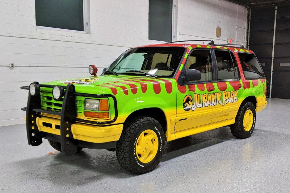 For Sale 1993 Ford Explorer Xlt 4 4 Jurassic Park Tribute 4 0l V6 4 Speed Auto Stangbangers In 2020 Ford Explorer Xlt Ford Explorer Ford Explorer For Sale