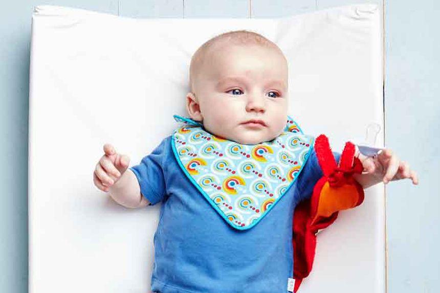 Wonderbaarlijk DIY: een super origineel slabbetje voor je baby   Slabbetje, Baby SD-73