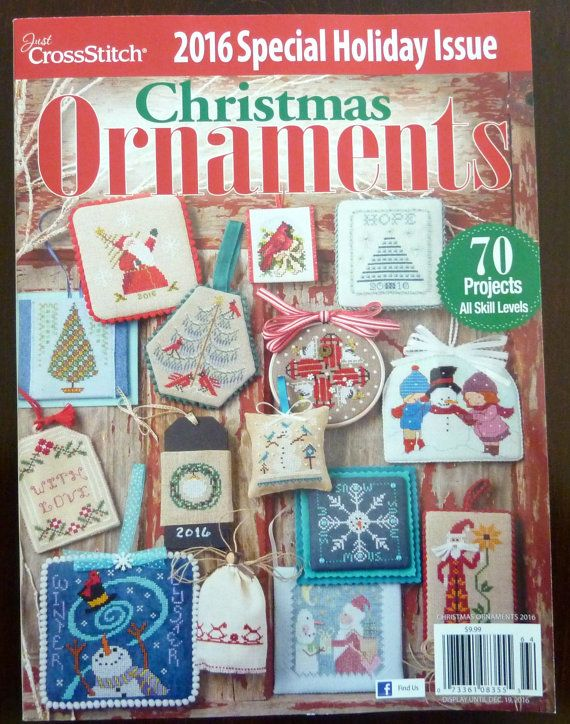 Cross Stitch Christmas Ornaments Magazine