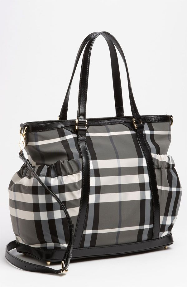 b0333f1658a Burberry diaper bag. There is just something about Burberry that I can t  get over.