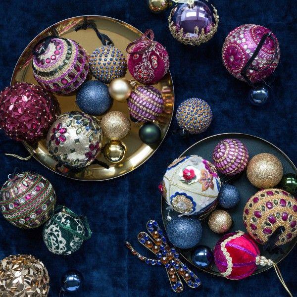 Noël Chic & Luxe : 80 Objets Déco & Accessoires (Noël 2018 / 2019) #kerstboomversieringen2019