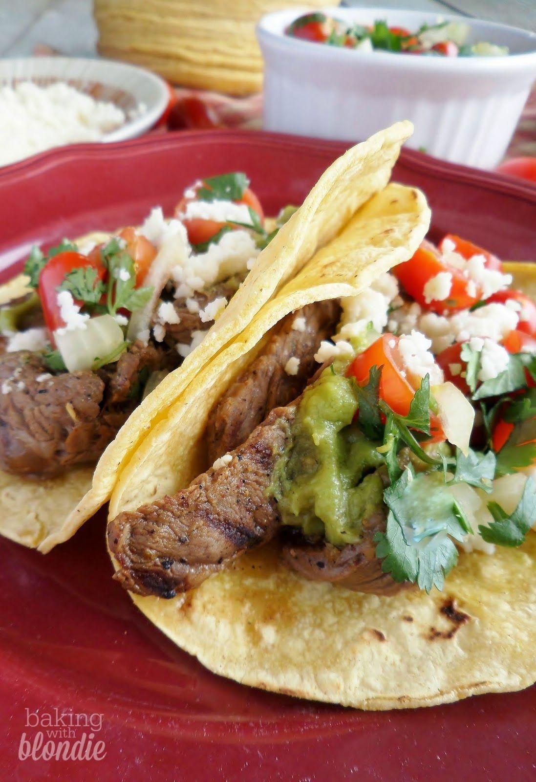 Authentic Carne Asada Tacos #asadatacos