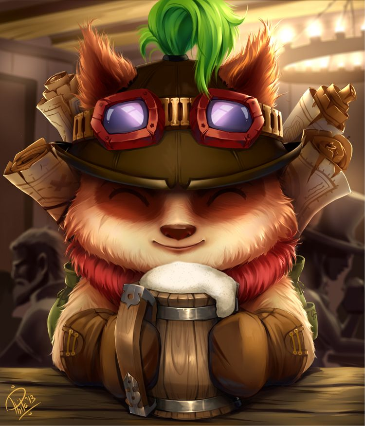 League Of Legends Teemo By Philiera On Deviantart Lol League Of Legends League Of Legends Teemo Champions League Of Legends