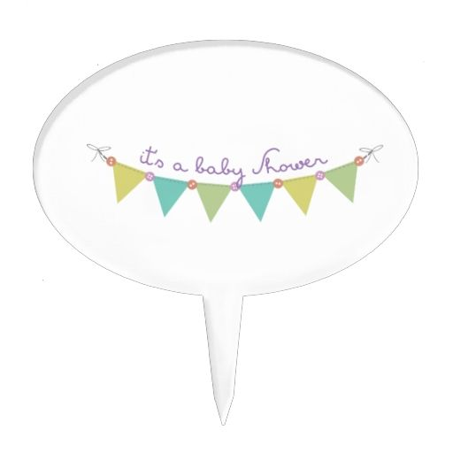 Its a Baby Shower Cake Pick