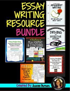 essay writing resources bundle argument explanatory essay writing resources bundle argument explanatory informative literary analysis and