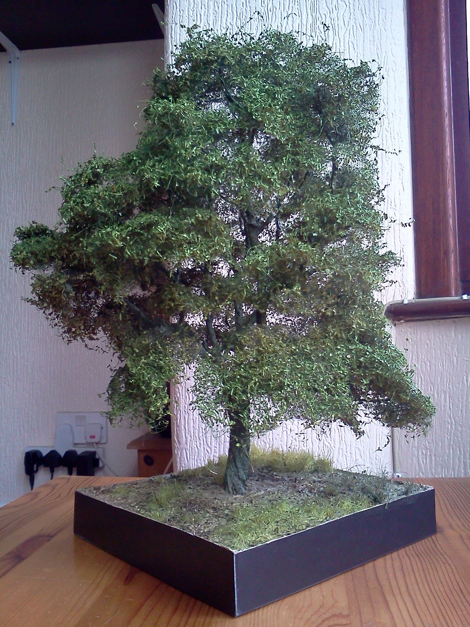Ash Tree 1 35 Scale Diorama Base By Terence Young Miniature Trees Model Tree Model Train Scenery