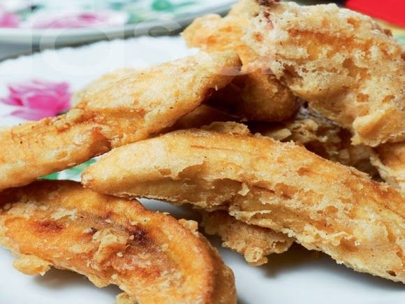 Petua Membuat Bancuhan Tepung Goreng Pisang Yang Rangup Makanan Tepung Menggoreng