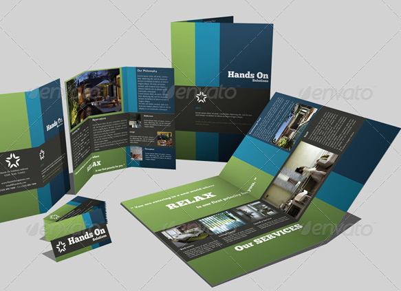 tri-fold-brochure-template-design | Graphic design | Pinterest ...