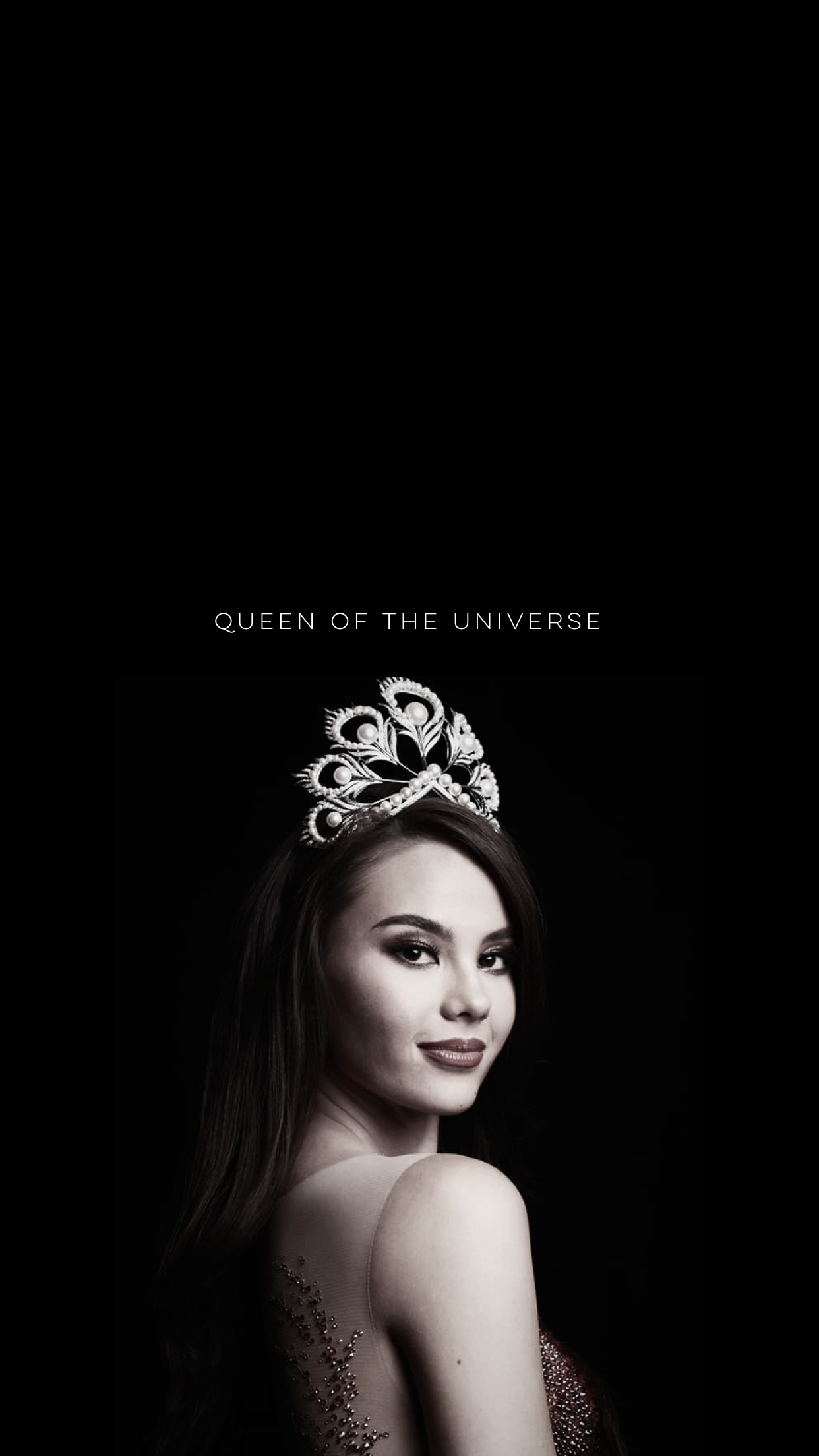 Catriona Gray Iphone Wallpaper Grey Wallpaper Iphone Miss Universe Crown Philippines Wallpaper