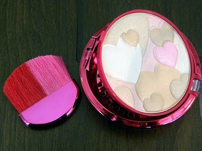 12 Days of Valentine's Day - love this pink compact with violet scented powder by Physician's Formula.