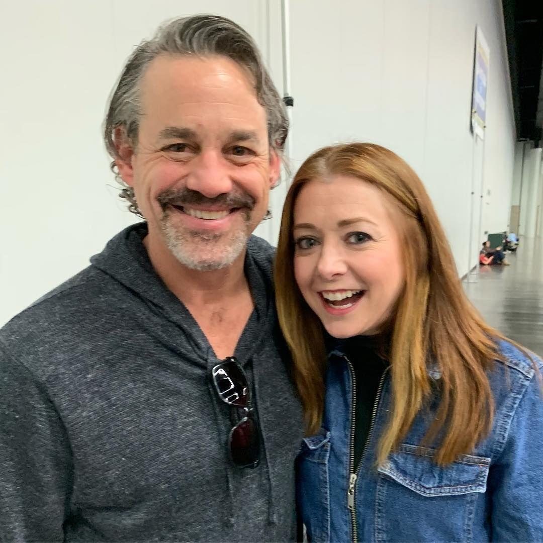 """Nicholas Brendon on Instagram: """"Willow and Xander together again ..."""
