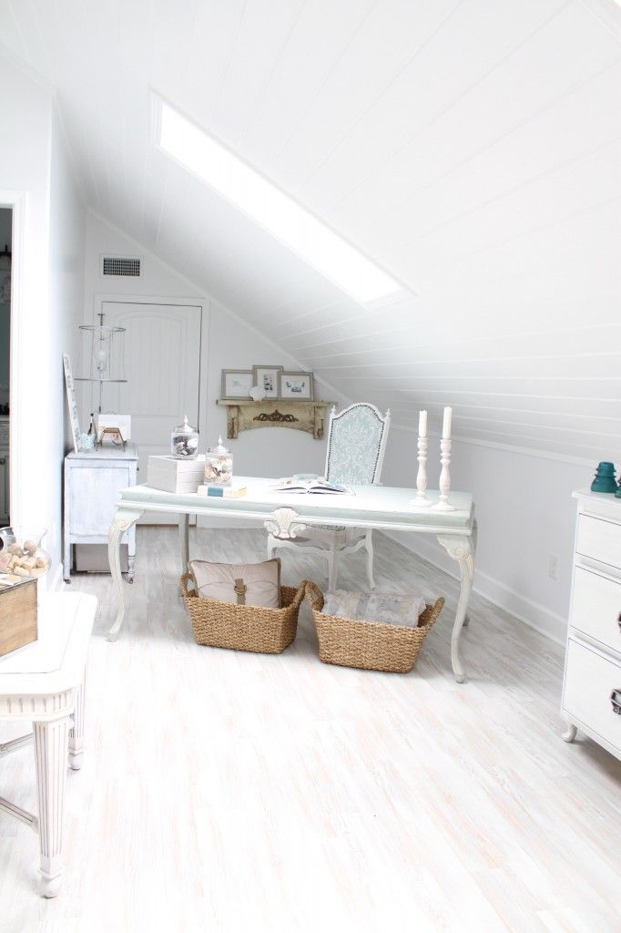 The Attic Turned Home Office Makeover With Images Home Office Design Inspiration Home Office Design