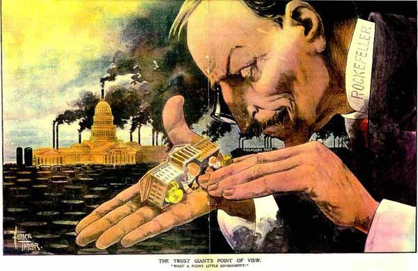 Laissez Faire Capitalism Gilded Age
