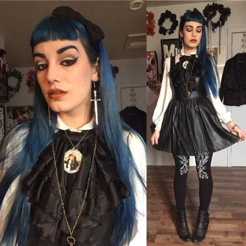 #ootd #thegothicalice #gothgoth #sovrin #the crypt of curiosities #labyrinth