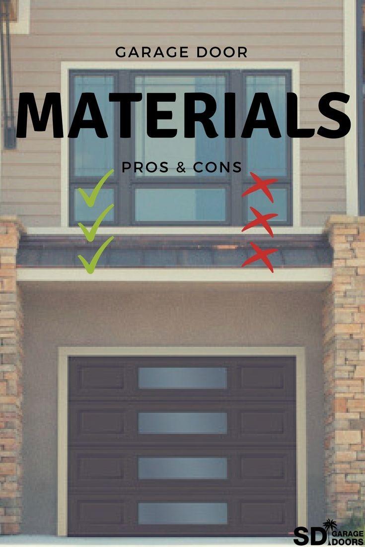 PinterestMaterials Garage doors, Garage, Doors