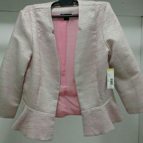 Metaphor pink boucle jacket NWT NWT | Boucle jacket, Blazers and Coats