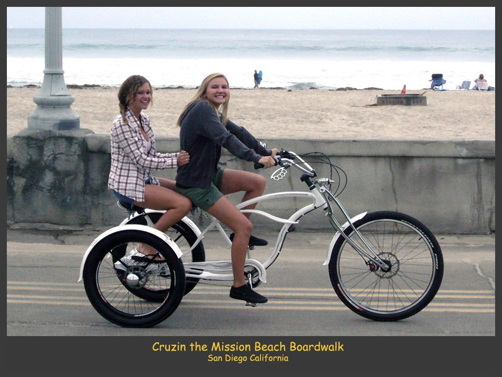 adult female thre wheel bicycle