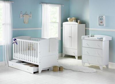 Babystart New Oxford 5 Piece Furniture Set White At Argos Co Uk Visit To Online For Nursery Sets