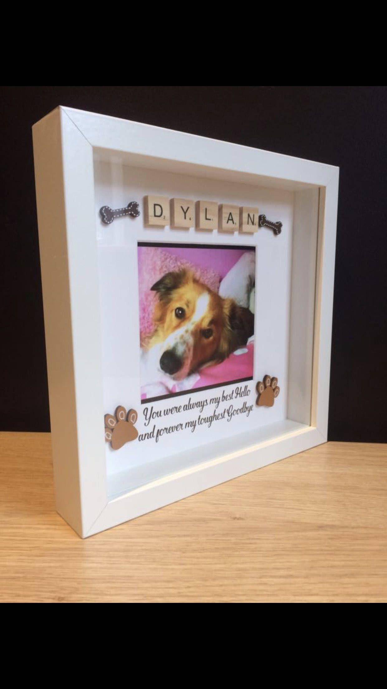 Pet Loss, Memory Box Frames, Angel Pets, Forever Memories, Cat, Dog ...