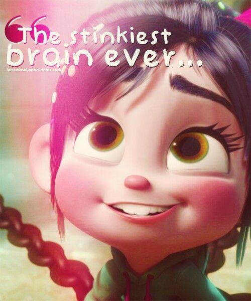 Vanellope, I have her eyes ((: