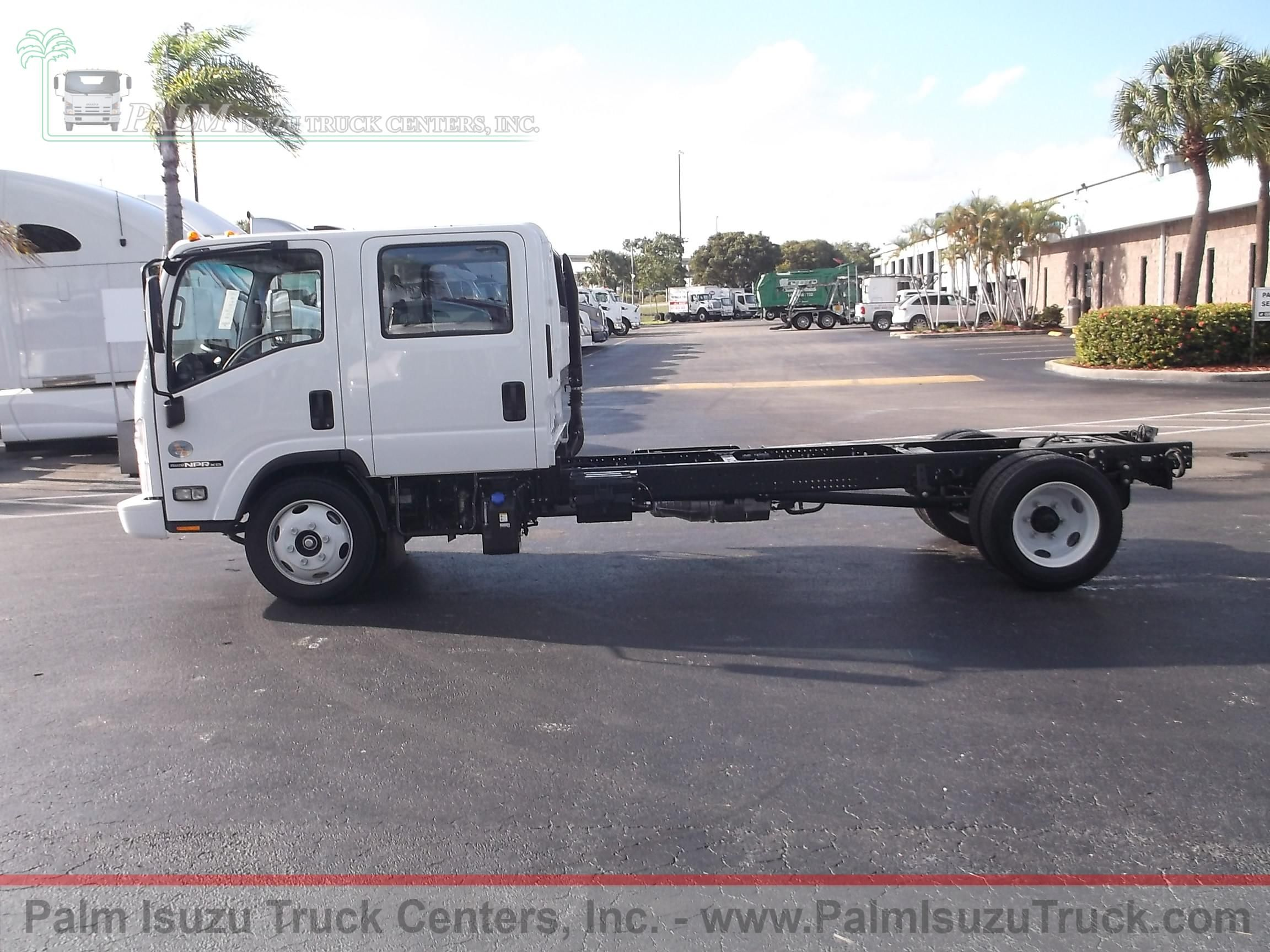 2017 Isuzu NPR Crew Cab And Chassis