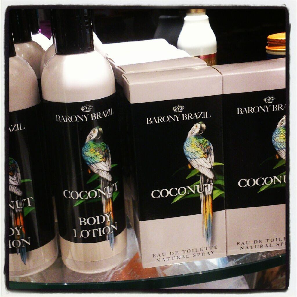 Flavourites: #coconut flavour voor het hele jaar #tropischegeur #ookbijkoudweer >> Barony Brazil Coconut, natural spray