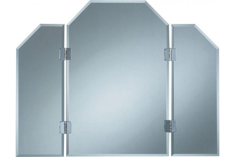 Kristall-Form Klappspiegel Atos klappbare Seitenteile, 84 x 65 cm - Globus-Baumarkt Shop