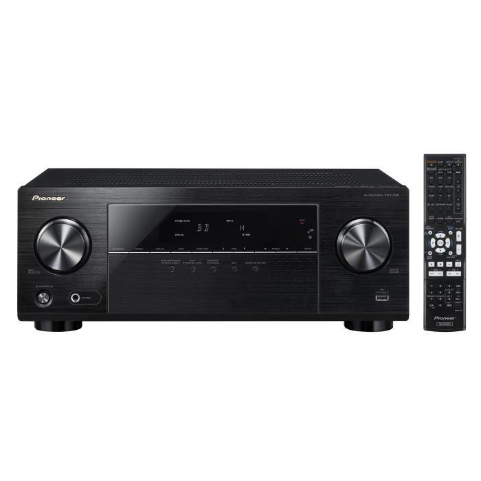 PIONEER VSX -330 -K Amplificateur audio -vidéo 5.1 avec HDMI 3D/ARC/4K PassThrough - HDCP 2.2 #audiovideo