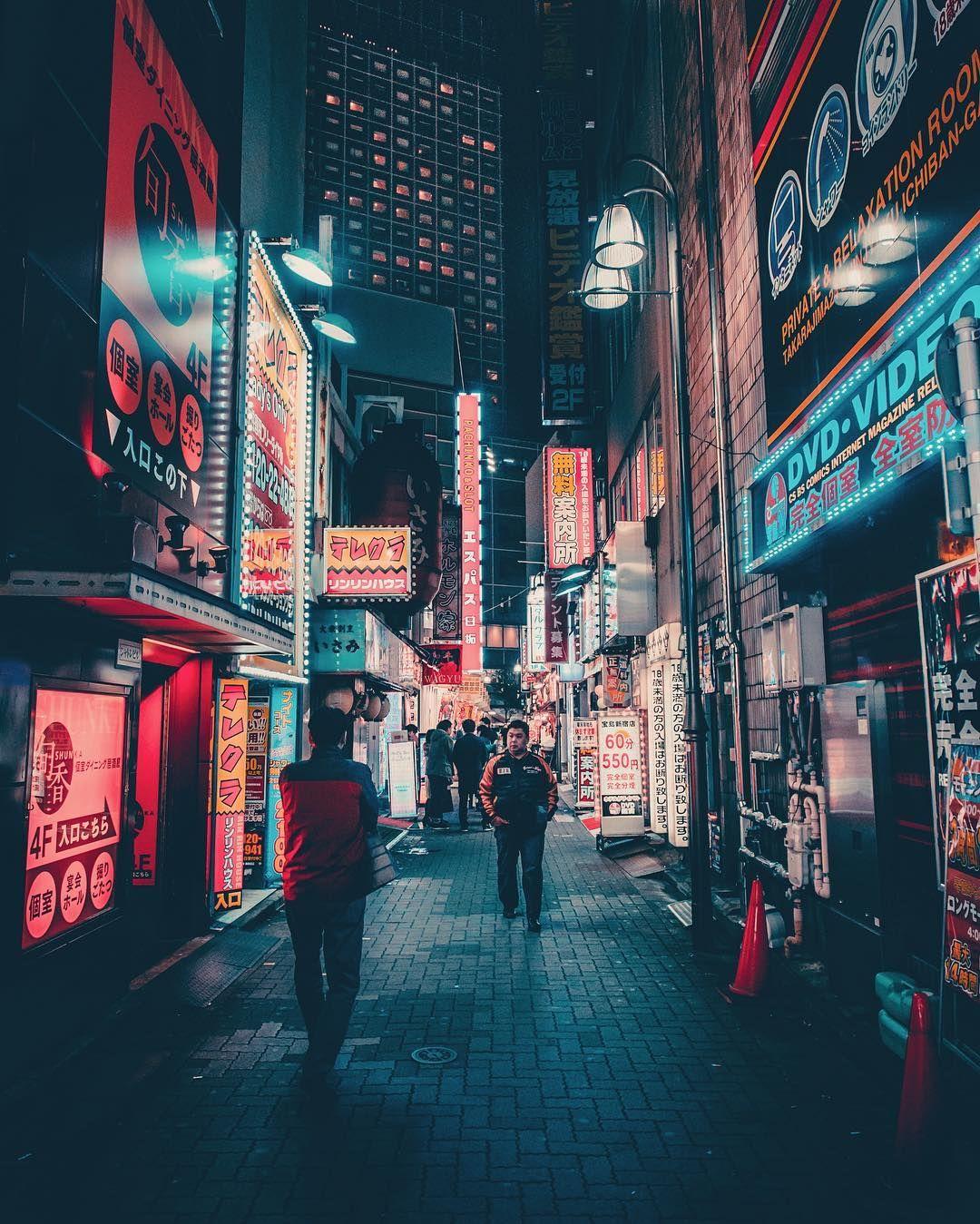 Vibrant Night graphy of Tokyo s Streets by Keiichiro Kinoshita