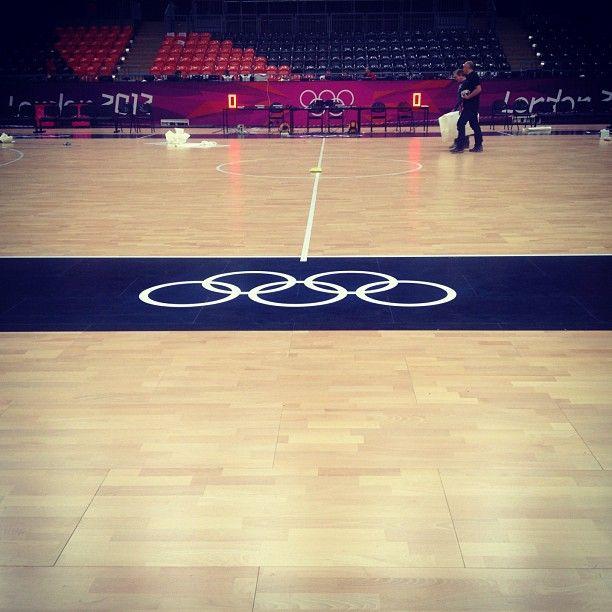 becks1973's photo of London 2012 Basketball Arena on Instagram