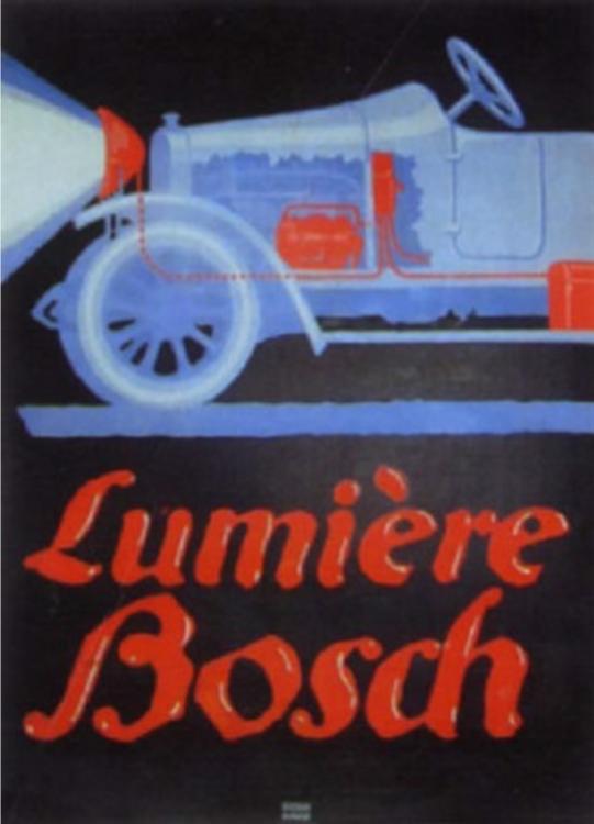 Lucian Bernhard (1883-1972, German-American), 1913, Lumière Bosch, 70 x 92.5 cm.