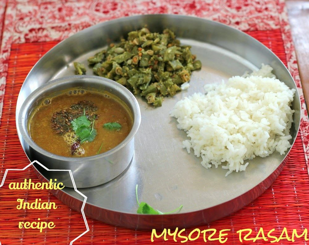 Have a look at mysore rasam karnataka cuisine its so easy to the saffron trail authentic vegetarian indian recipes based in bangalore forumfinder Gallery