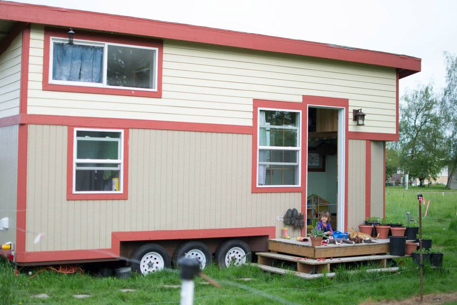 Corvallis Tiny House A 280 square feet tiny house on wheels in