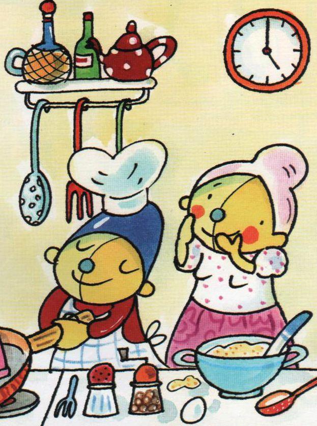 plaatje pompom schatkist pompom thema taarten eten en