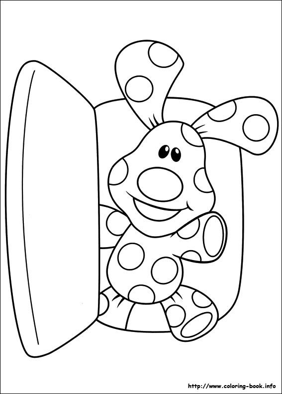 Blue\'s Clues coloring picture | :{ Puppy Party }: | Pinterest