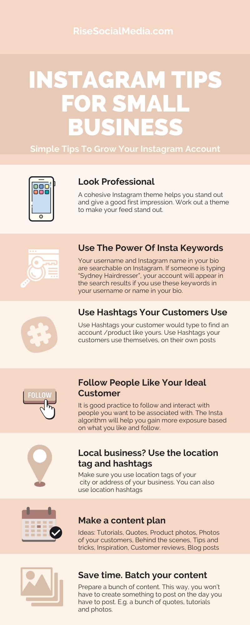 7 Instagram Tips For Small Business In 2020 Instagram Algorithm Instagram Marketing Tips Instagram Tips