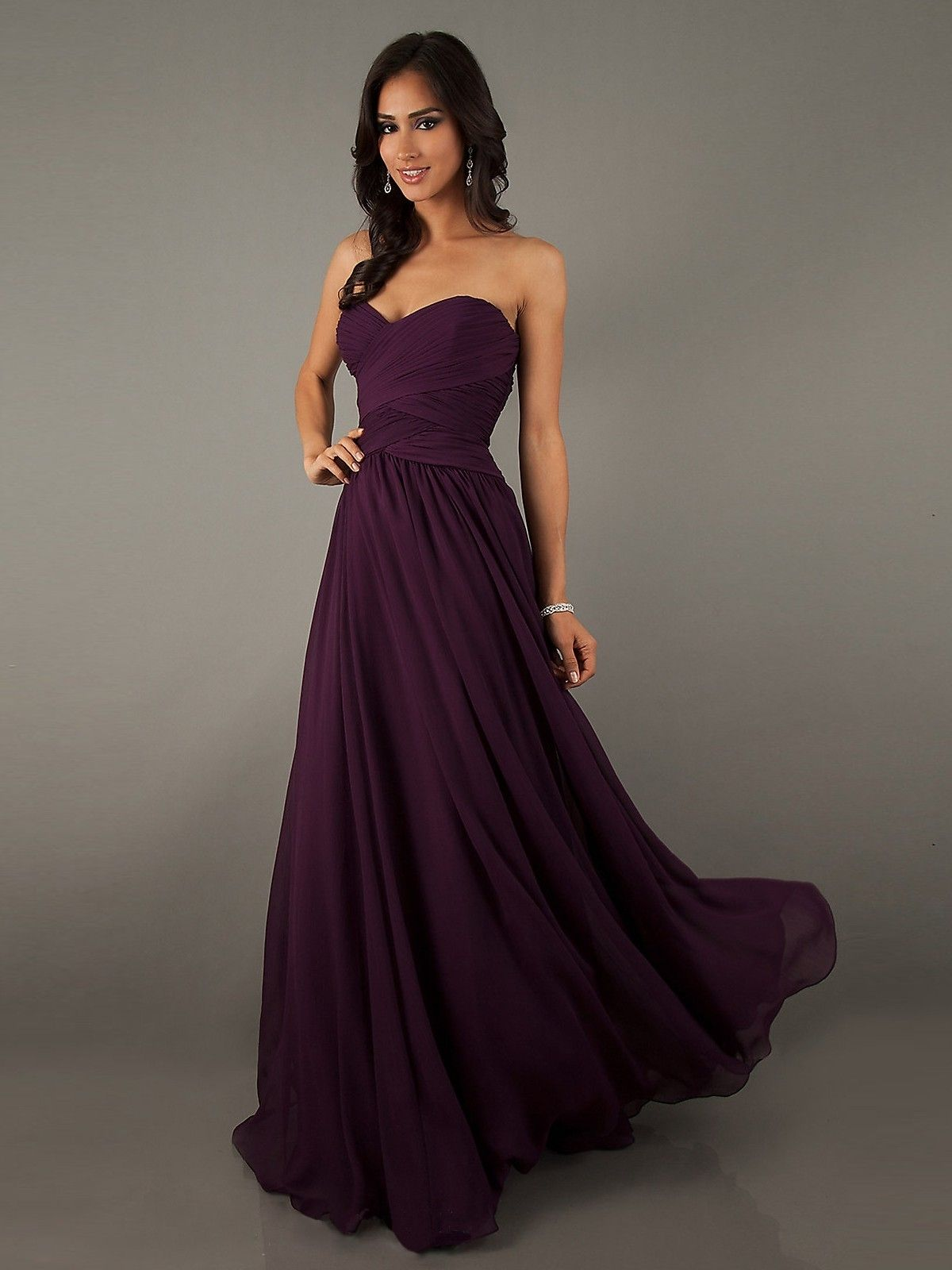 525b4c1ae85 Eggplant Dresses For Weddings