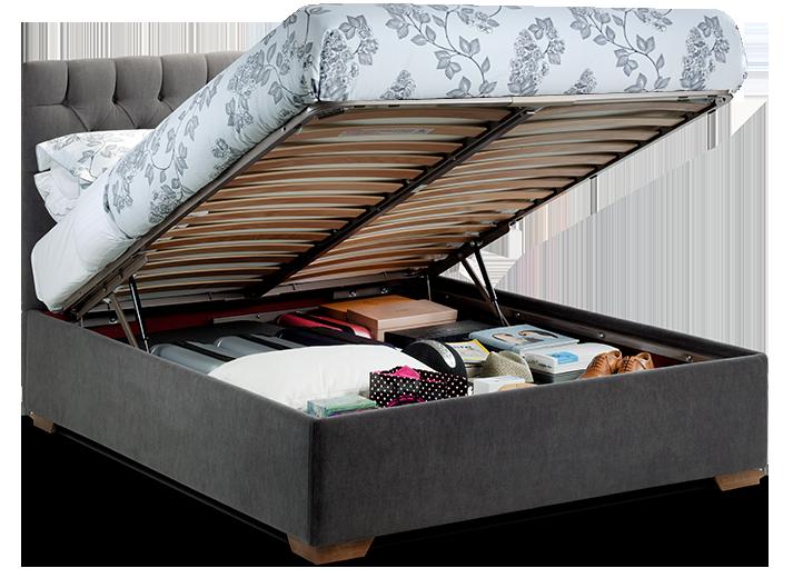 Open Max Storage Bed
